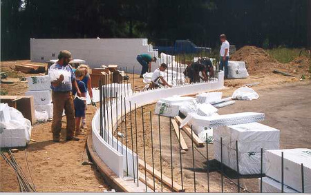 What can you build with insulated concrete forms for Icf concrete forms for sale