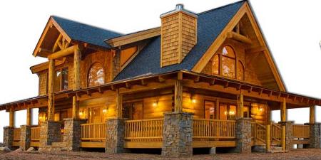 Log Home - 20 Essentials of Great Log Home Designs