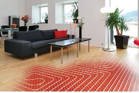 Radiant Floor Heating and Hardwood Floor