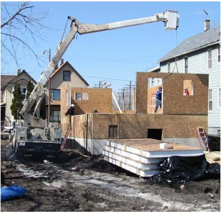 Structural insulated panels for Sips home designs
