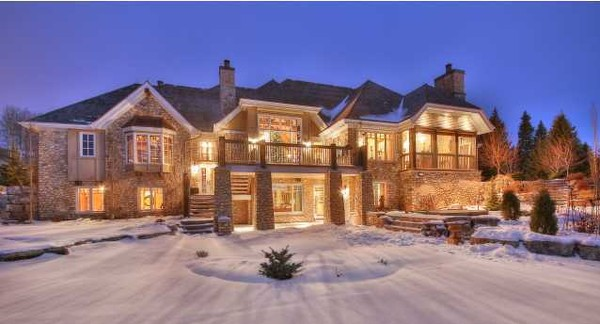 Luxury homes in ontario for Home builders in canada