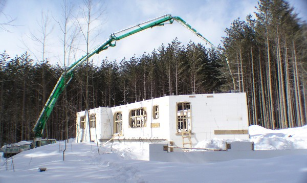 Icf construction ontario home builders for Icf house cost