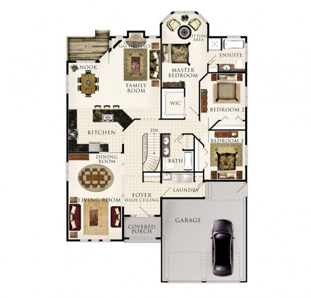 The Silver Maple Floor Plan