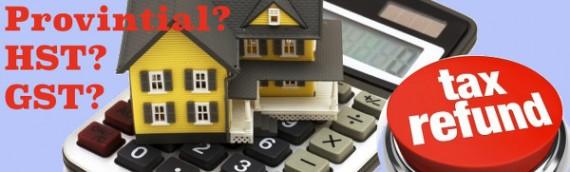 New Home HST Rebate Calculator – Ontario